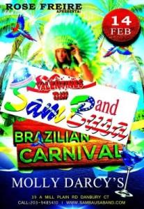 Sam Busa Valentine's Day e Carnaval