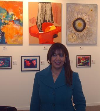 Artista Plástica Brasileira Marina Mourão Participa da ARTEXPO NEW YORK
