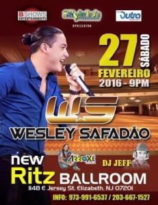 Wesley Safadão no Ritz Ballroom